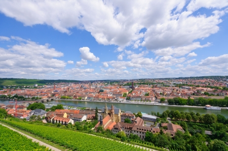 The City of Würzburg in Germany Stok Fotoğraf - 25256430