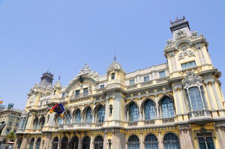 Building of Custom in Barcelona, Spain Standard-Bild