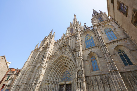 Die Kathedrale in Barcelona, ??Spanien