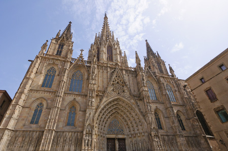 The Cathedral in Barcelona, Spain