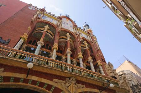 Palau de la Msica Catalana in Barcelona, ??Spanien
