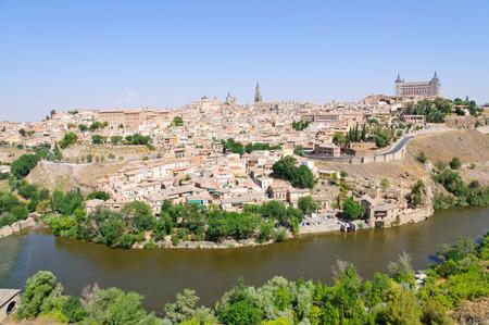 Die historische Stadt Toledo in Spanien Standard-Bild - 29669649
