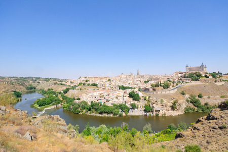 The historic city of Toledo in Spain photo