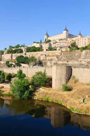 Die historische Stadt Toledo in Spanien Standard-Bild - 29669677