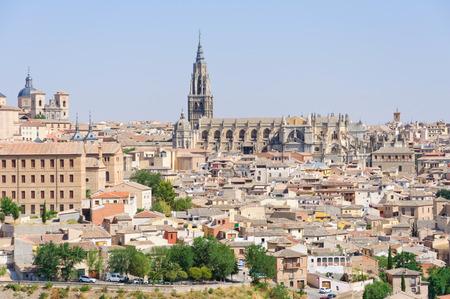 Die historische Stadt Toledo in Spanien Standard-Bild - 29669712