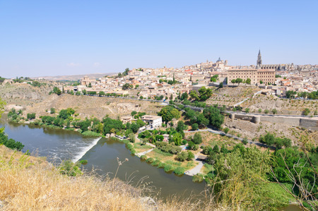 The historic city of Toledo in Spain
