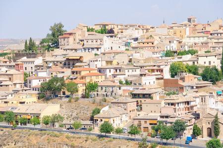 Die historische Stadt Toledo in Spanien