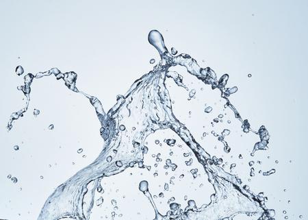 Spritzer Wasser Standard-Bild