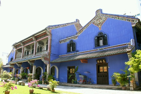 penang: Traditional house in Penang, Malaysia