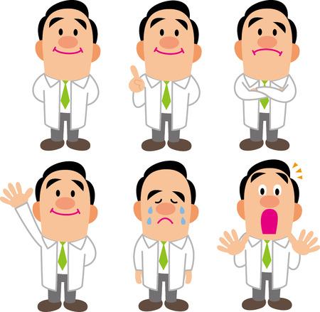 La collecte des pauses médecin Banque d'images - 24121304