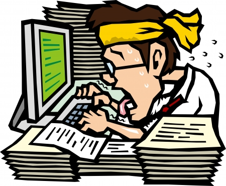 impatient: Overtime work