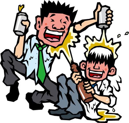salaried: Drunkard