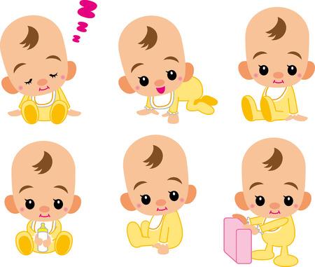 feeding bottle: baby