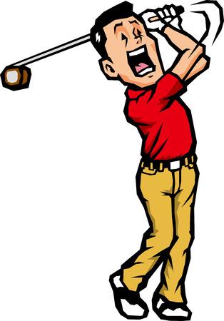 beginner: Golf swing