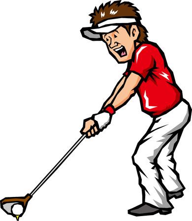 golf swing: Golf swing