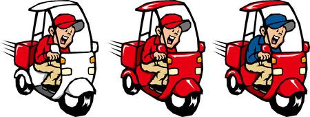 deliveryman: Fattorino