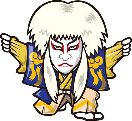 kabuki: Kabuki Illustration