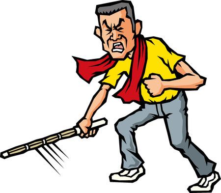 eagerness: Hot blood boss  Illustration