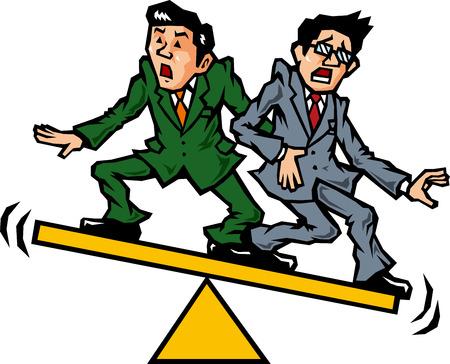 salaried worker: Embarrassment salaried worker