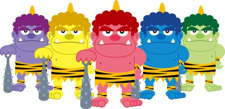 Five demon