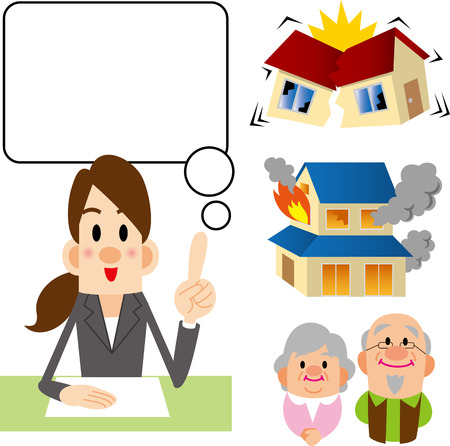 counselor: Insurance counselor Illustration