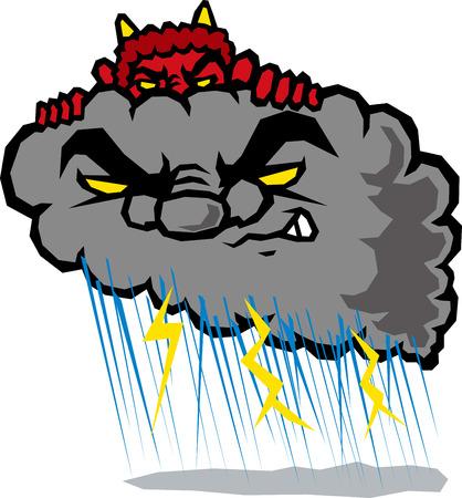 torrential rain: Thunderstorm