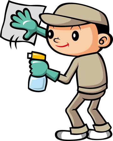 청소 직원