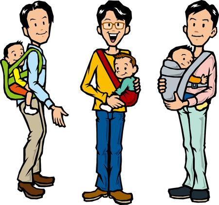 piggyback: Father to a hug