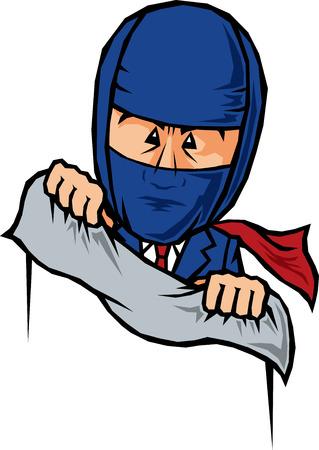 ninjutsu: Businessman hide