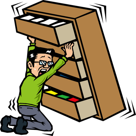 asher: Those who hold the furniture in earthquake Illustration