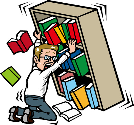 asher: Those who hold the bookshelf in the earthquake