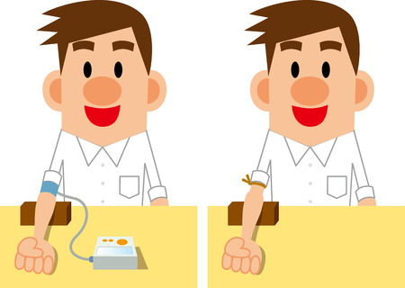 Blood collection and blood pressure