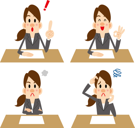 Counseling  イラスト・ベクター素材
