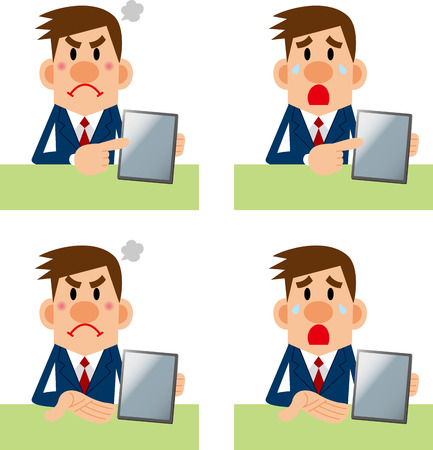 Upset Person Clipart