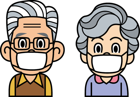 colds: Mask of the elderly