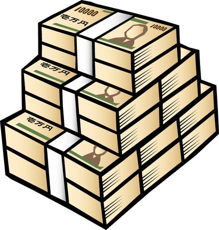 profiting: Wad of money