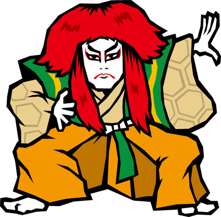 Kabuki Illustration