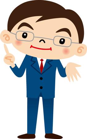 systemic: Businessman Illustration