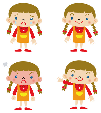 4,718 Crying Child Stock Vector Illustration And Royalty Free ...