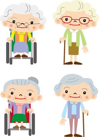old nursing: Grandmother