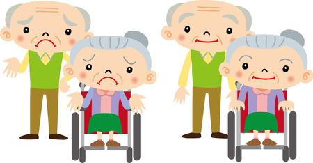 anciano: Pareja de ancianos