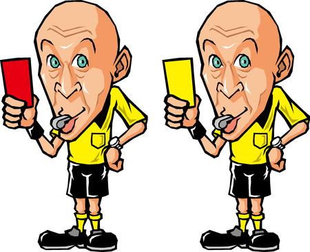 Referee of soccer