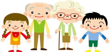 grandchildren: Grandparents and grandchildren