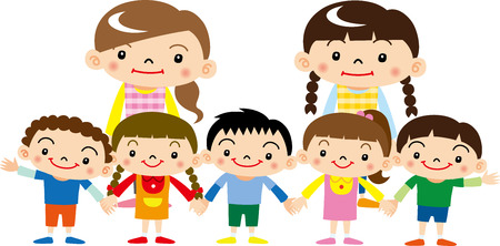 preschool child: Nursery and kindergarten
