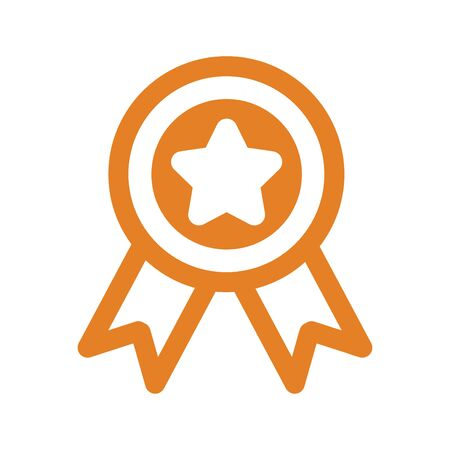 Beautiful design and fully editable Award Icon for commercial, print media, web or any type of design projects.
