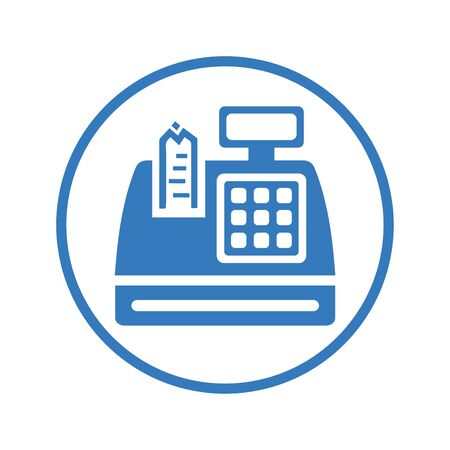 Beautiful, meticulously designed Cash Register Icon. Perfect for use in designing and developing websites, printed files and presentations, Promotional Materials, Illustrations or any type of design projects.