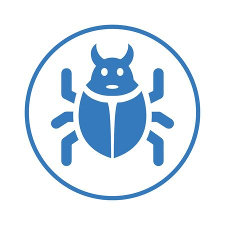 Beautiful design and fully editable Bug, fixing, repair, reparation, weak side, lapsus icon for commercial, print media, web or any type of design projects.