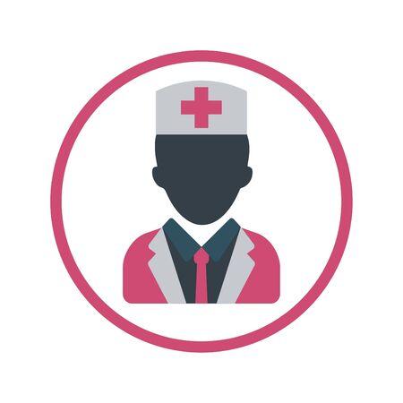 Arzt, Chirurgensymbol Vektorgrafik