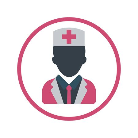 Doctor, surgeon icon Vektorové ilustrace