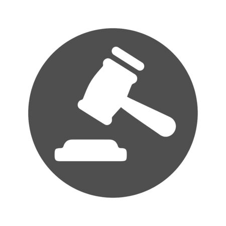 Beautiful design and fully editable Gavel / Hammerer Icon for commercial, print media, web or any type of design projects.